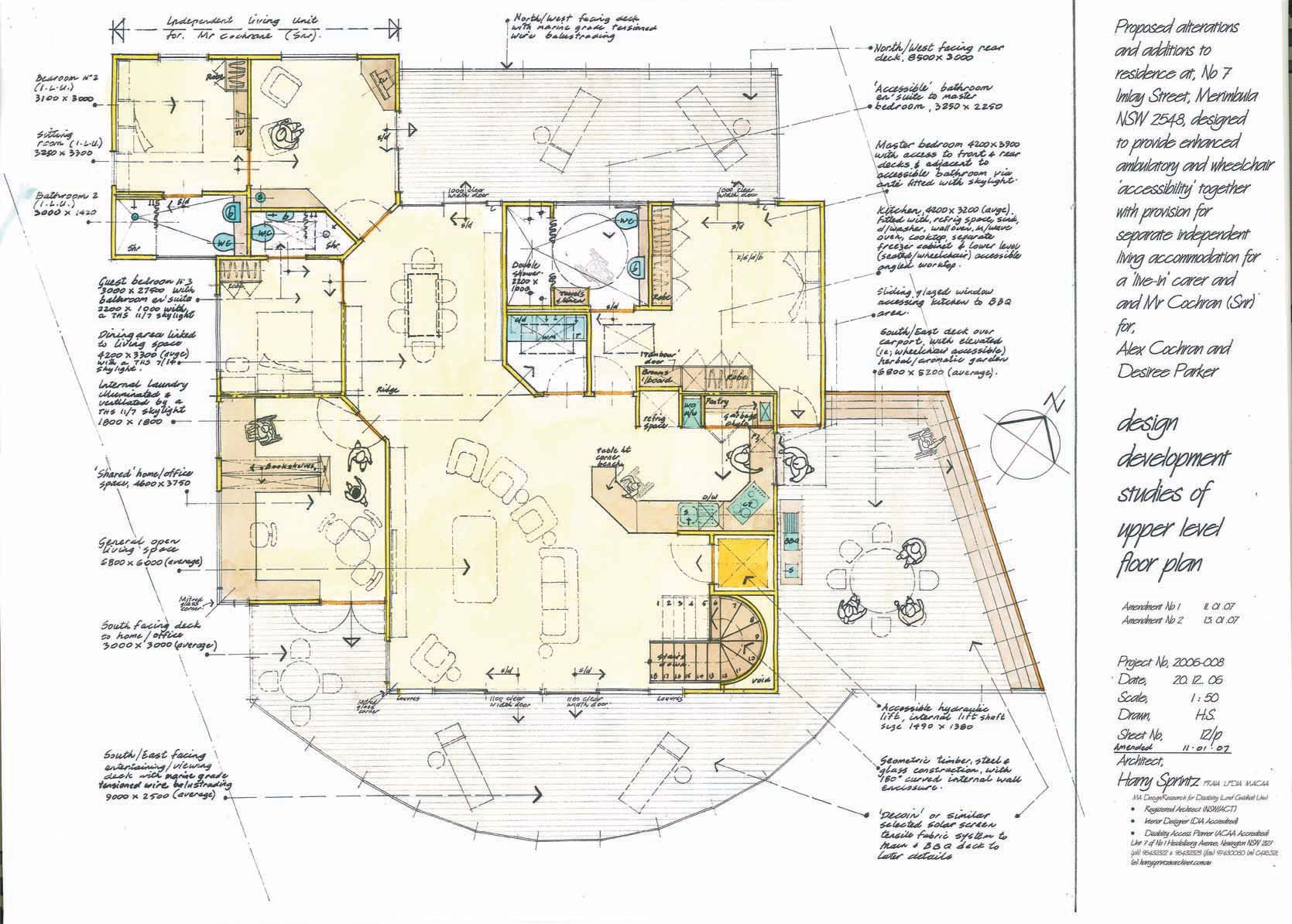 Home renovations for universal accessibility Universal house plans