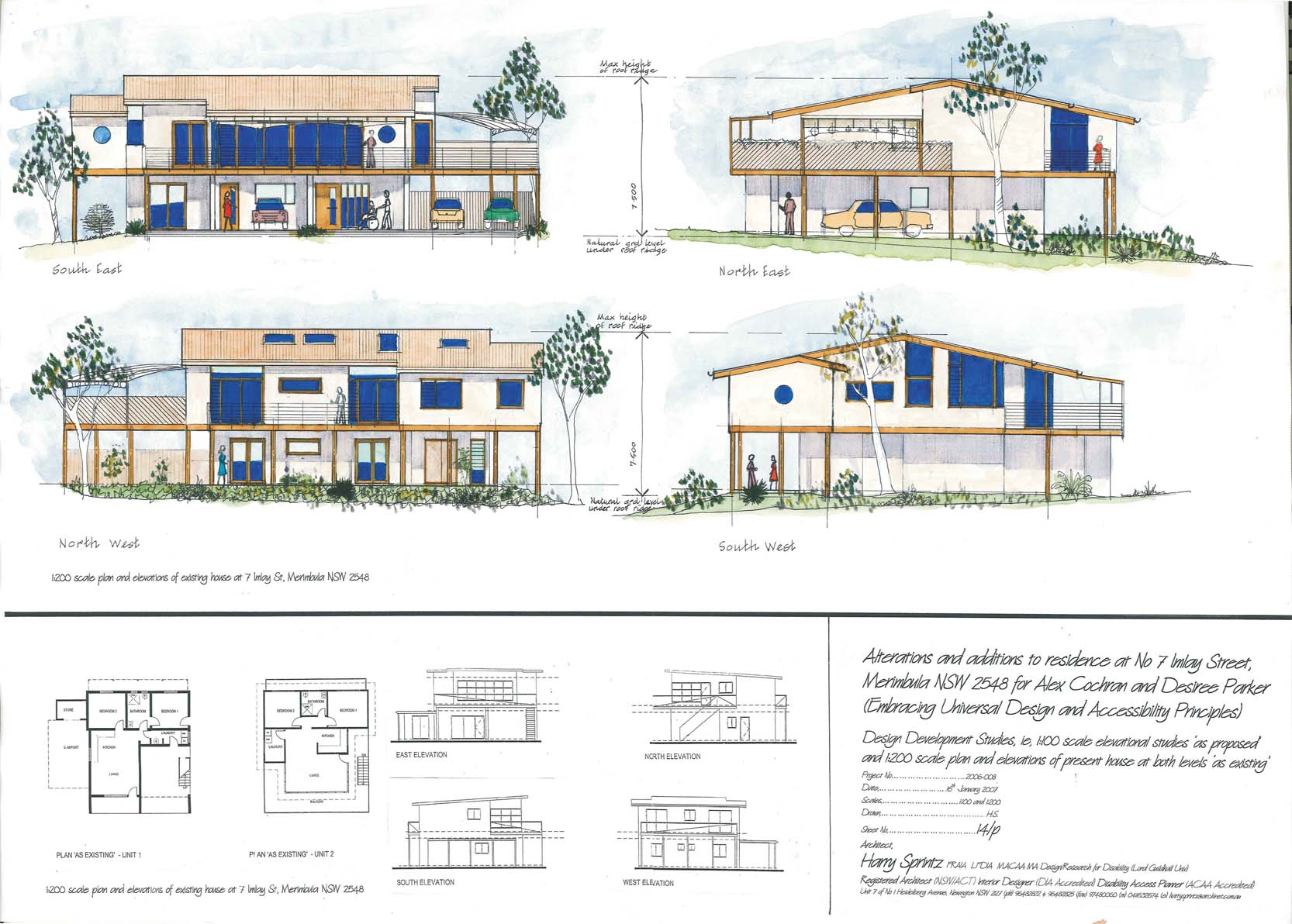 A universal design project comes to life universal for Universal design house plans