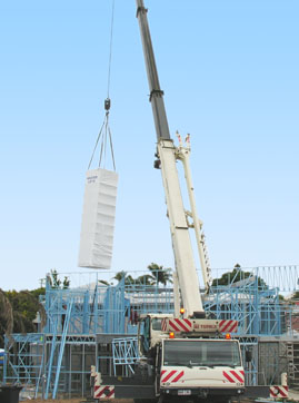 Masterlift crane in