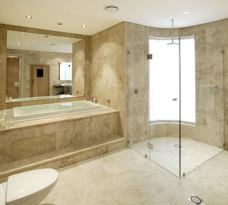 Marble And Travertine Tiles Universal Design Renovations
