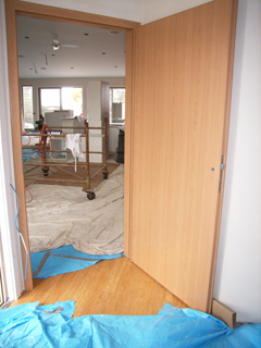 Euro-tec Doors being installed