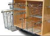 Hafele Pull Out Wire Baskets